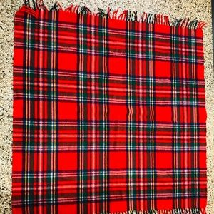 Other - Tartan Blanket Unique Photo Prop camping gear